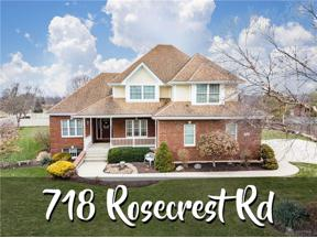 Property for sale at 718 Rosecrest Road, Tipp City,  Ohio 45371