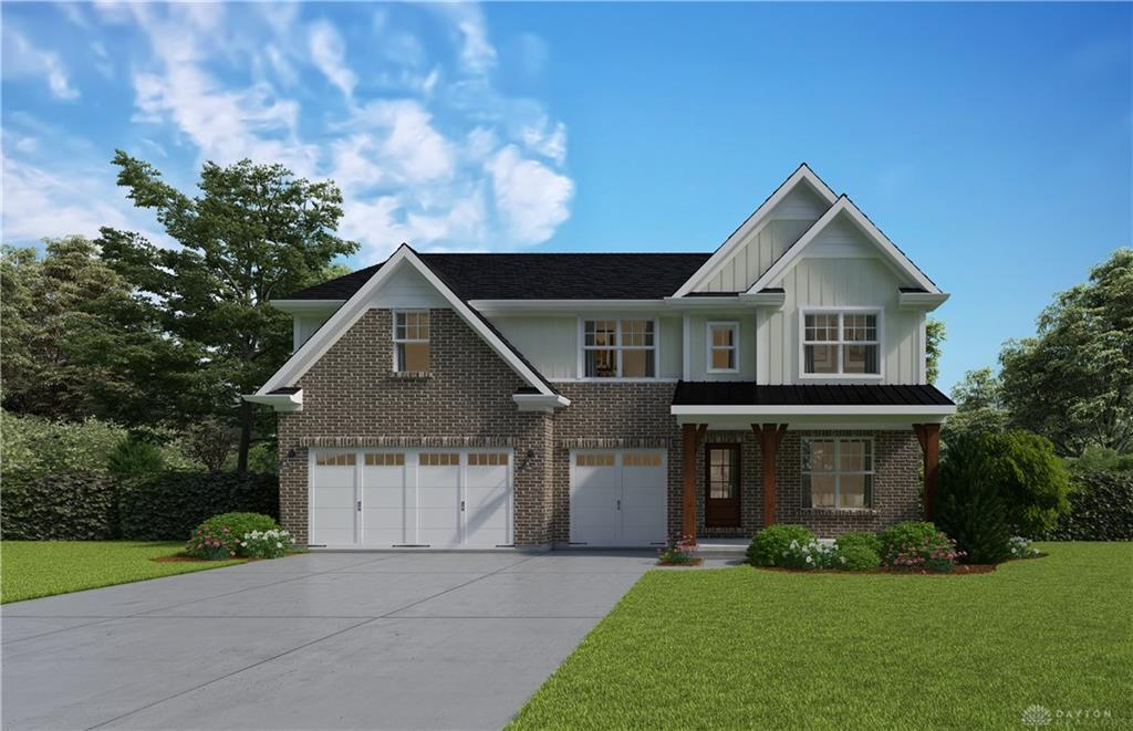 Photo of home for sale at 1575 Grand Cypress Boulevard, Clearcreek Twp OH