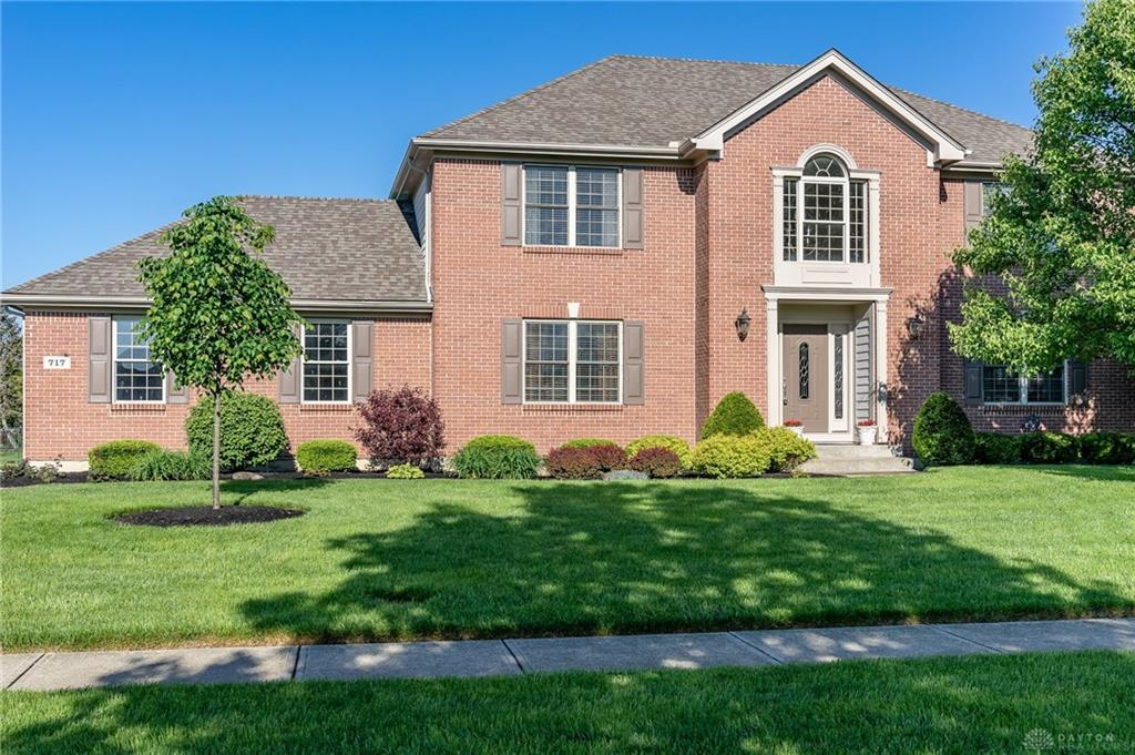 Photo of home for sale at 717 Greystone Drive, Beavercreek OH