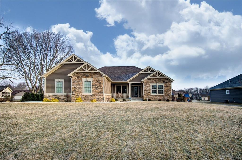 Photo of home for sale at 509 Woodfield Drive, Troy OH