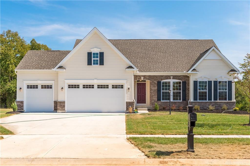 Photo of home for sale at 7530 Timber Valley Drive, Franklin Twp OH