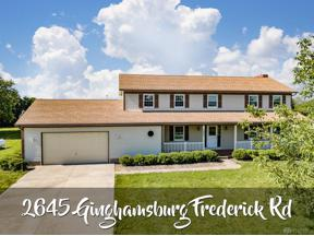 Property for sale at 2645 Ginghamsburg Frederick Road, Tipp City,  Ohio 45371