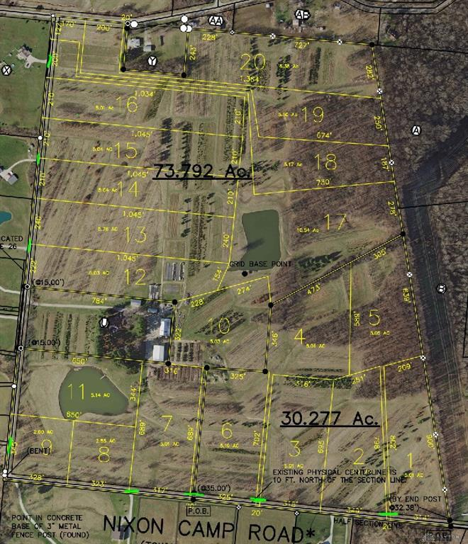 Photo of home for sale at Lot 4 Nixon Camp Road, Turtlecreek Twp OH