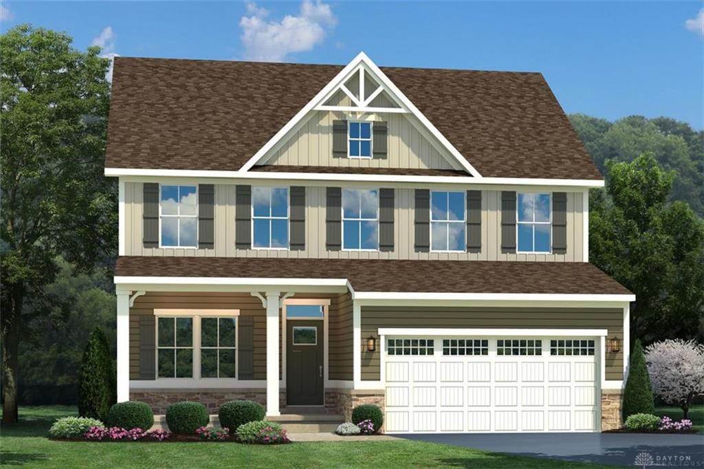 Photo of home for sale at 1764 Winding Run Boulevard, Clearcreek Twp OH