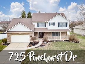 Property for sale at 725 Pinehurst Drive, Tipp City,  Ohio 45371