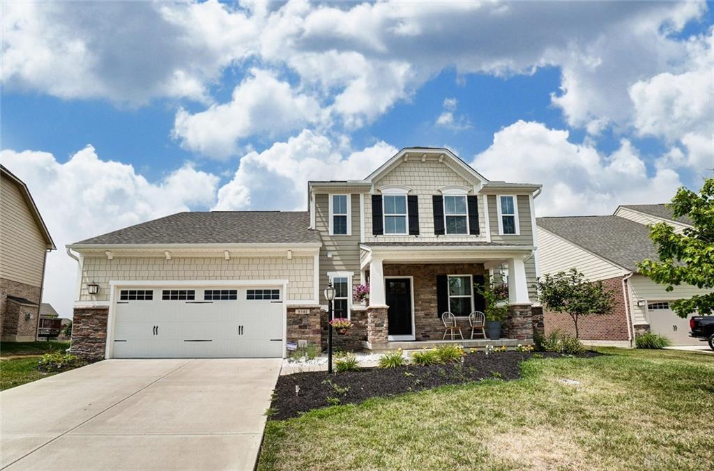 Photo of home for sale at 9341 Maple Brook Street, Springboro OH