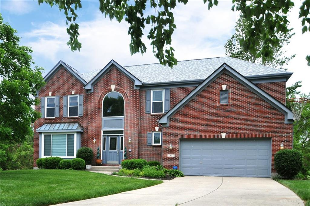 Photo of home for sale at 45 Millers Row, Springboro OH