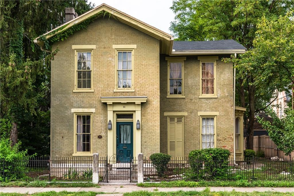 Photo of home for sale at 11 Cass Street, Dayton OH