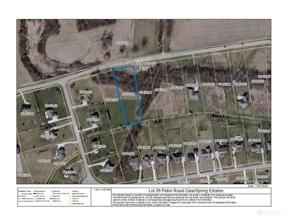 Property for sale at 26 Pekin Road, Lebanon,  Ohio 45036