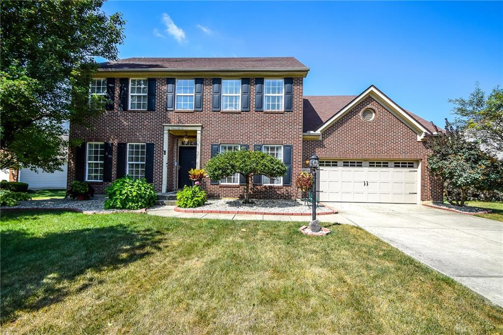 Photo of home for sale at 10075 Pebblestone Drive, Washington Twp OH