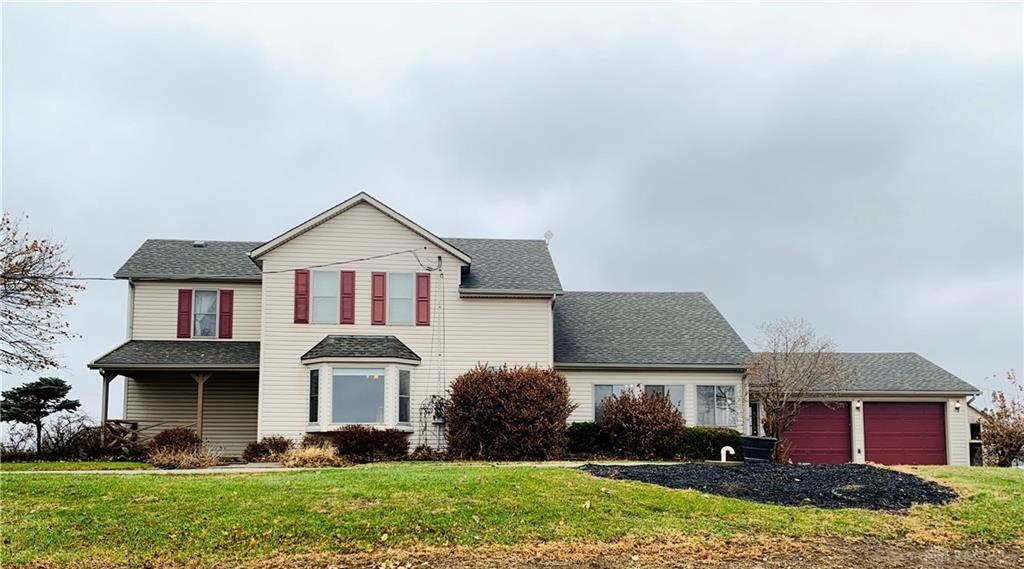 Photo of home for sale at 7312 Darke Preble Co Line Road, Arcanum OH