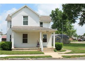 Property for sale at 907 Wheeler Street, Troy,  OH 45373
