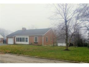 Property for sale at 110 Ridgeway Drive, Centerville,  Ohio 45459