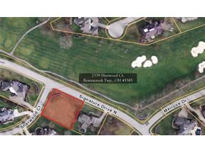 Property for sale at 2339 Sherwood Court, Beavercreek Township,  Ohio 45385