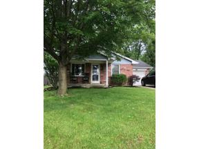 Property for sale at 1608 Daniel Court, Middletown,  OH 45044