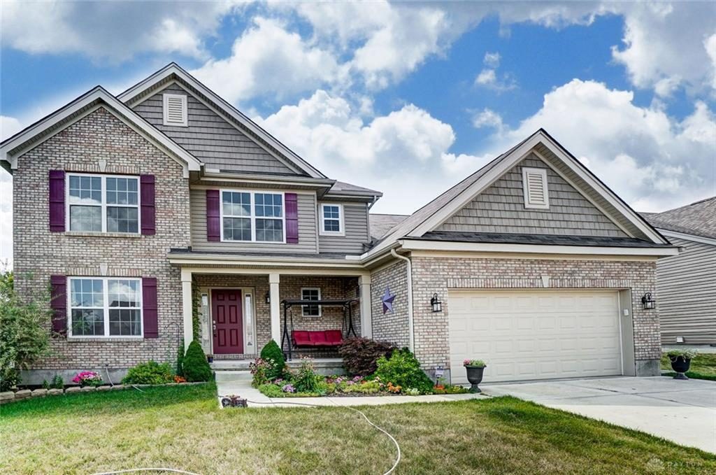 Photo of home for sale at 8020 Bushclover Drive, Tipp City OH