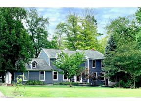 Property for sale at 9050 Lake in the Woods Trail, Chagrin Falls,  Ohio 44023