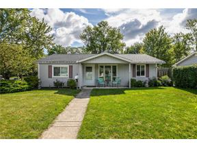 Property for sale at 478 Holly Drive, Berea,  Ohio 44017
