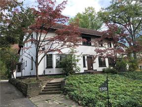 Property for sale at 2329 Stillman Road, Cleveland Heights,  Ohio 44118