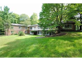 Property for sale at 7650 Deerfield Road, Gates Mills,  Ohio 44040