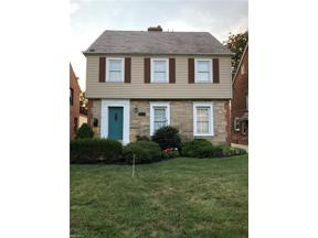 Property for sale at 2456 Traymore Road, University Heights,  Ohio 44118