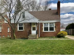 Property for sale at 1633 Temple Avenue, Mayfield Heights,  Ohio 44124