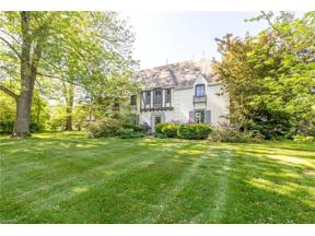 Property for sale at 16850 Parkland Drive, Shaker Heights,  Ohio 44120