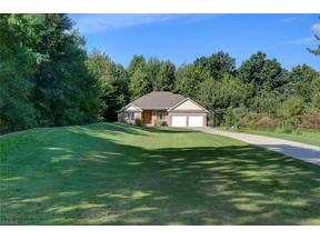 Property for sale at 12456 Cowley Road, Columbia Station,  Ohio 44028
