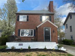 Property for sale at 2167 Morrison Avenue, Lakewood,  Ohio 44107