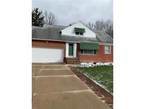 Property for sale at 1499 S Belvoir Boulevard, South Euclid,  Ohio 44121