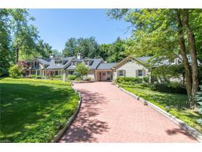 Property for sale at 1420 Cardinal Lane, Gates Mills,  Ohio 44040