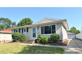 Property for sale at 18450 Kalvin Drive, Brook Park,  Ohio 44142