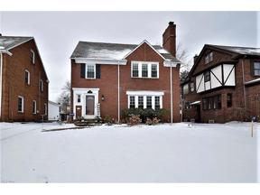Property for sale at 2564 Saybrook Road, University Heights,  Ohio 44118