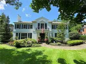 Property for sale at 2740 Chesterton Road, Shaker Heights,  Ohio 44122