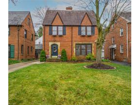 Property for sale at 3854 Meadowbrook Boulevard, University Heights,  Ohio 44118