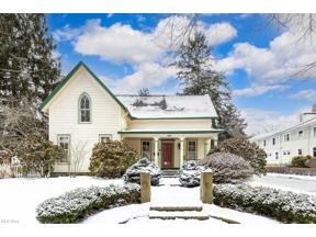 Property for sale at 166 S Franklin Street, Chagrin Falls,  Ohio 44022