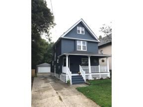 Property for sale at 1325 Ethel Avenue, Lakewood,  Ohio 44107