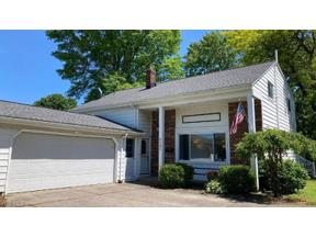 Property for sale at 4341 Plumwood Drive, North Olmsted,  Ohio 44070
