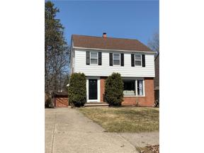 Property for sale at 3609 E Scarborough Road, University Heights,  Ohio 44118