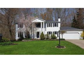Property for sale at 18150 Rolling Brook Drive, Chagrin Falls,  Ohio 44023