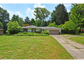 Property for sale at 7820 Hillside Road, Independence,  Ohio 44131