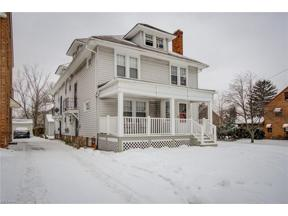 Property for sale at 2200 Jackson Boulevard, University Heights,  Ohio 44118