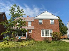 Property for sale at 4045 Okalona Road, South Euclid,  Ohio 44121