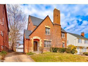 Property for sale at 2552 Saybrook Road, University Heights,  Ohio 44118