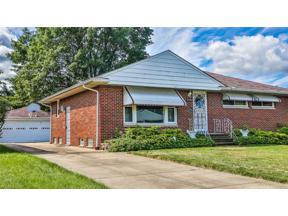 Property for sale at 23502 Brookton Road, Warrensville Heights,  Ohio 44128