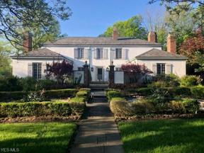 Property for sale at 22870 Canterbury Lane, Shaker Heights,  Ohio 44122