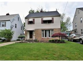 Property for sale at 2319 Saybrook Road, University Heights,  Ohio 44118