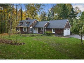 Property for sale at 7315 Cardinal Lane, Chagrin Falls,  Ohio 44022