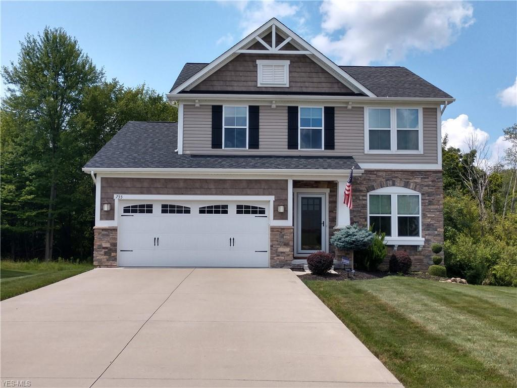 Photo of home for sale at 755 Arbor Trails Drive, Macedonia OH