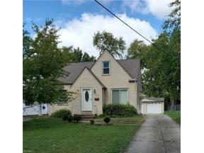 Property for sale at 11714 Meadowbrook Drive, Parma Heights,  Ohio 44130